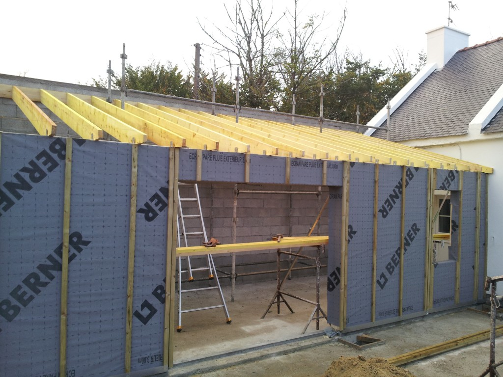 Extension bois bretagne qq17 jornalagora for Construction agrandissement bois