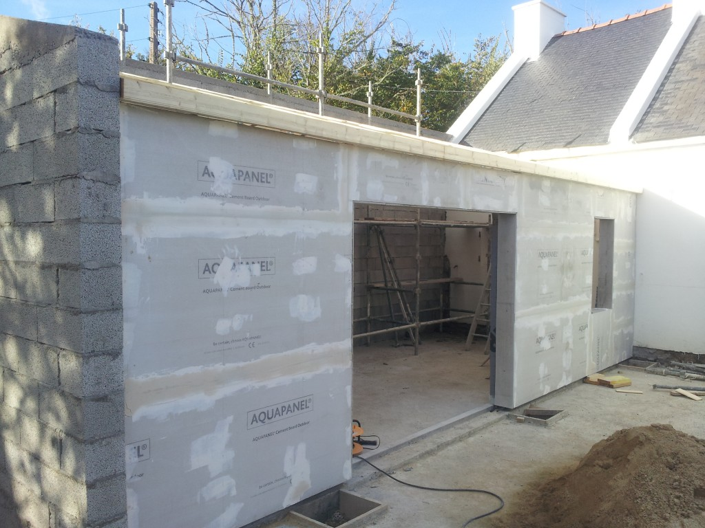 Maison parpaing bois affordable with maison parpaing bois for Extension parpaing