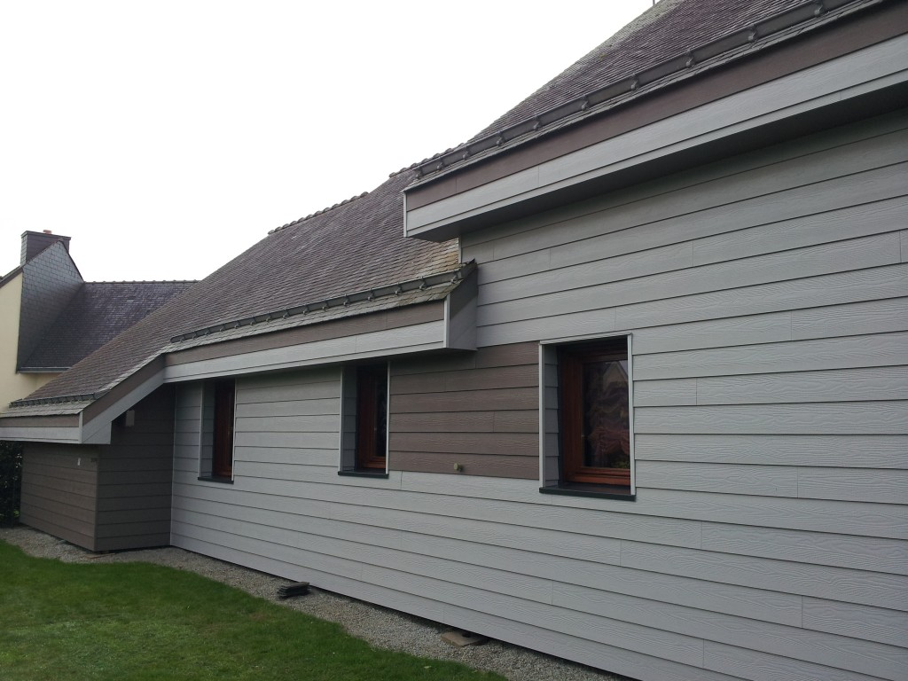 Isolation par l 39 ext rieur vannes morbihan qualibat rge for Renovation bardage bois exterieur